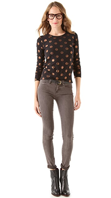Marc by Marc Jacobs Clara Dot Jersey Tee