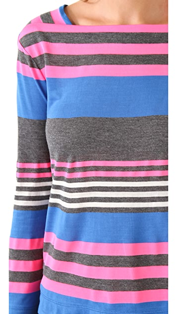 Marc by Marc Jacobs Flash Striped Top