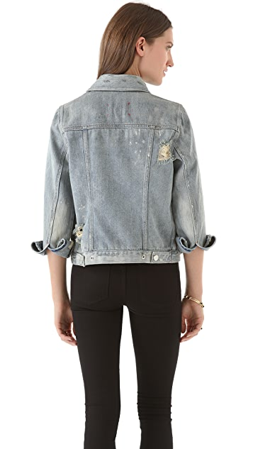 Marc by Marc Jacobs Standard Supply Lily Jean Jacket