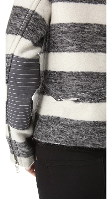 Marc by Marc Jacobs Oda Mae Striped Jacket