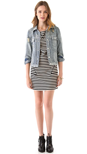 Marc by Marc Jacobs Ben Stripe Terry Dress