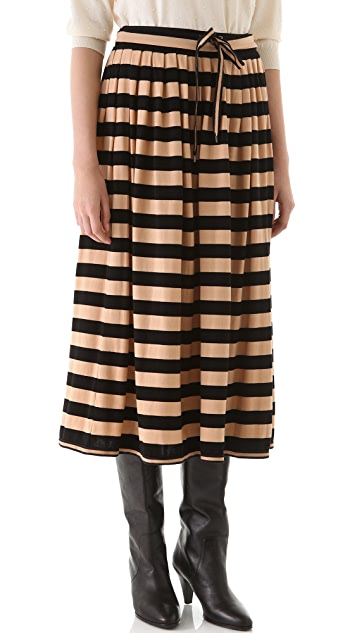 Marc by Marc Jacobs Skeeter Striped Skirt