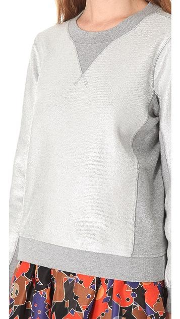 Marc by Marc Jacobs Foil Printed Sweatshirt