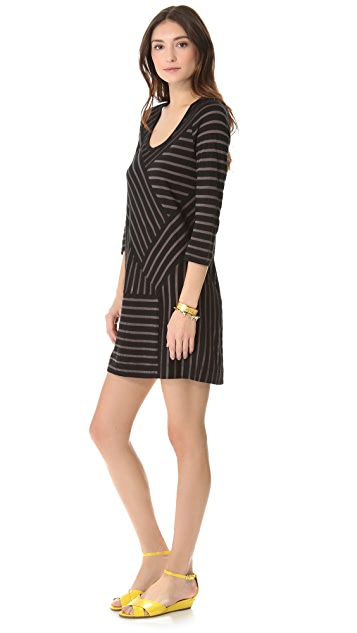 Marc by Marc Jacobs Smith Stripe Jersey Dress