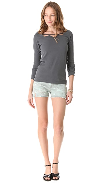 Marc by Marc Jacobs Armisen Long Sleeve Top