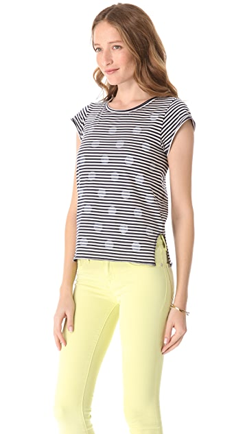Marc by Marc Jacobs Willa Dot Stripe Shirt