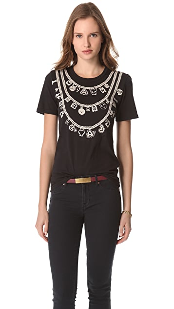 Marc by Marc Jacobs Dreamy Necklace Tee