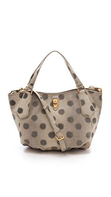Marc by Marc Jacobs Embossed Lizzie Dots N/S Tote