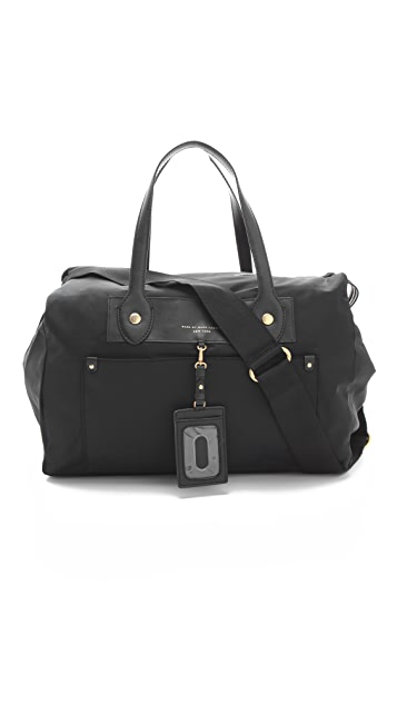 Marc by Marc Jacobs Preppy Nylon Pearl Weekender
