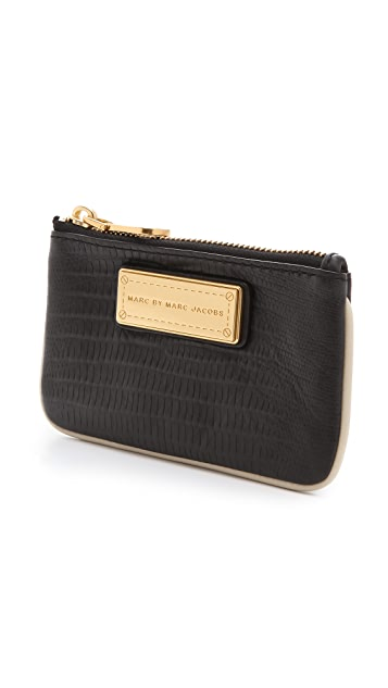Marc by Marc Jacobs Too Hot To Handle Colorblocked Key Pouch