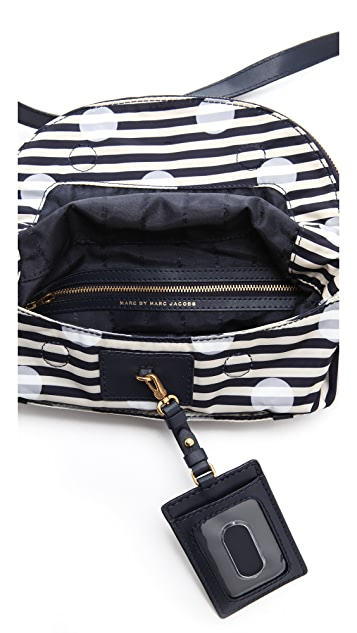 Marc by Marc Jacobs Preppy Nylon Print Natasha Bag