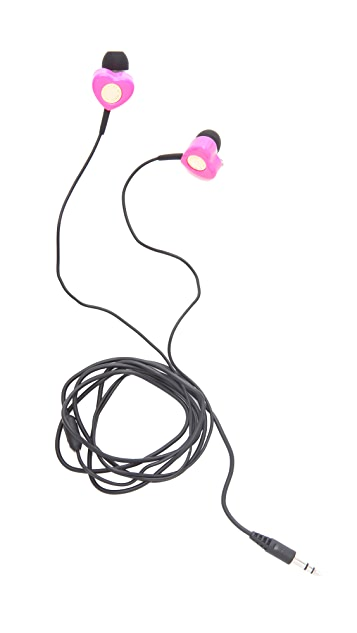 Marc by Marc Jacobs Heart Earbuds