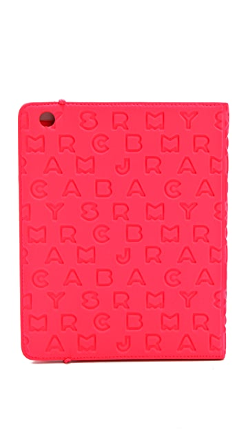 Marc by Marc Jacobs Dreamy Logo Neoprene Tablet Book