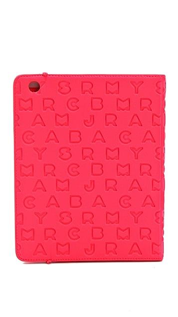 Marc by Marc Jacobs Dreamy Logo Neoprene Tablet Book