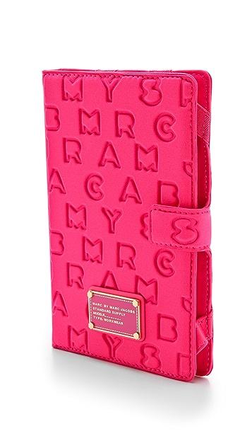 Marc by Marc Jacobs Dreamy Logo Neoprene E-Reader Book