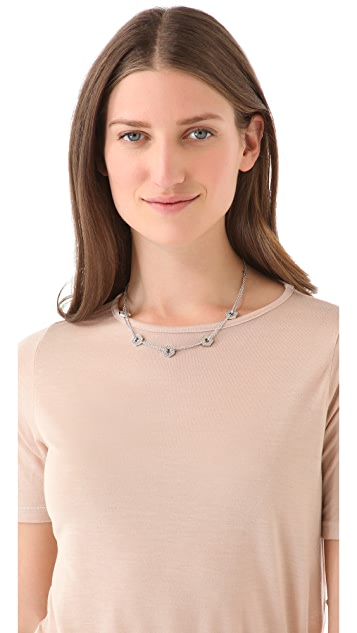 Marc by Marc Jacobs Pave Bolt Necklace