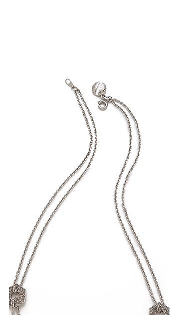 Marc by Marc Jacobs Pave Bolt Necklace