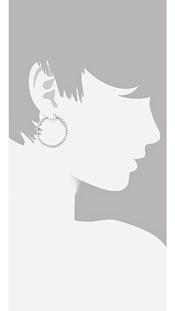 Marc by Marc Jacobs Hoop Earrings