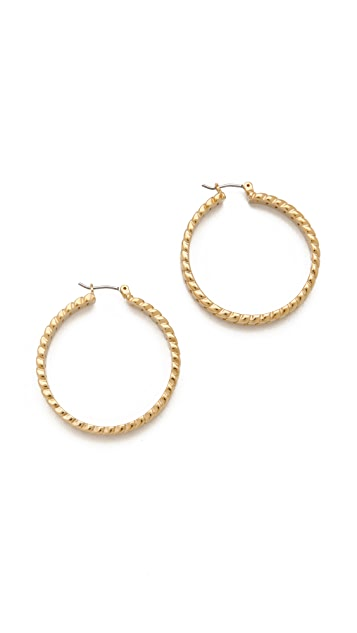 Marc by Marc Jacobs Hoop Earrings