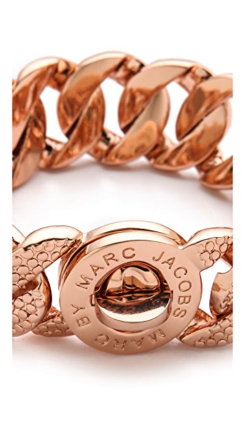 Marc by Marc Jacobs Lizard Texture Katie Bracelet