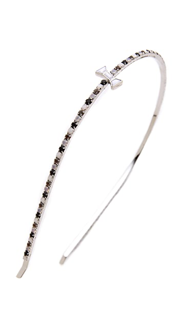Marc by Marc Jacobs Tiny Crystal Headband