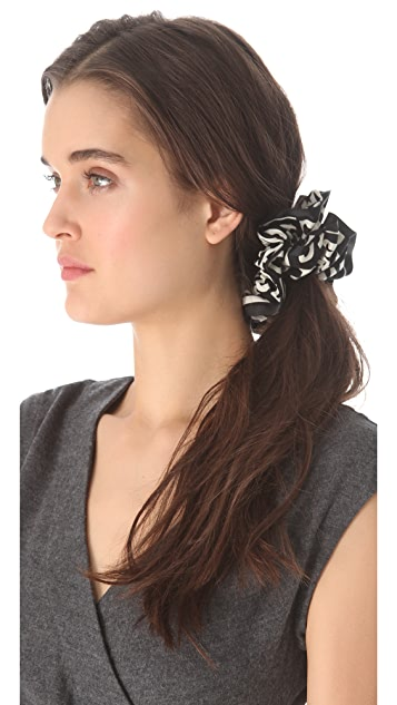 Marc by Marc Jacobs Chou Chou Jumbled Logo Scrunchie
