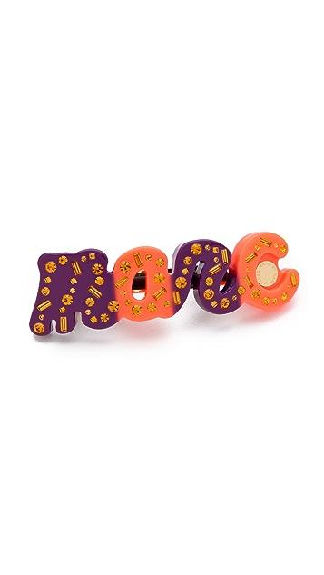 Marc by Marc Jacobs Confetti Marc Script Barrette