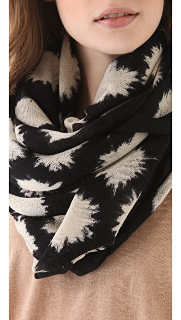 Marc by Marc Jacobs Sparks Print Scarf