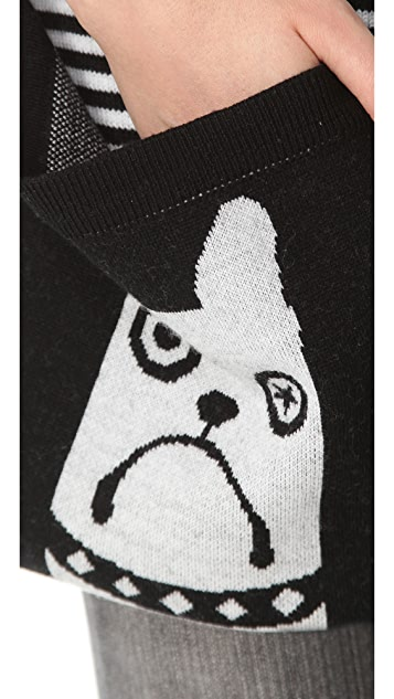 Marc by Marc Jacobs Critter Scarf