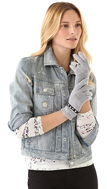 Marc by Marc Jacobs Trompe L'oeil Gloves