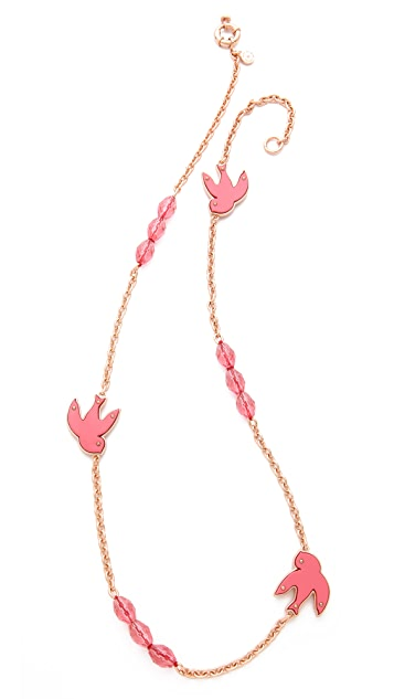 Marc by Marc Jacobs Petal to the Metal Long Necklace