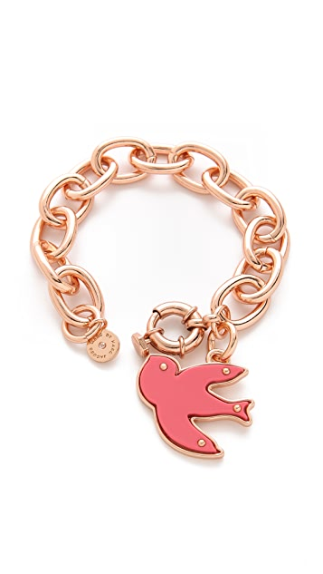 Marc by Marc Jacobs Petal to the Metal Charm Bracelet