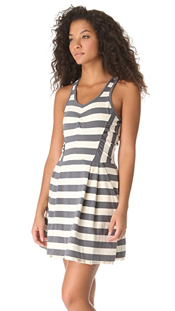 Marc by Marc Jacobs Rapture Striped Jersey Dress