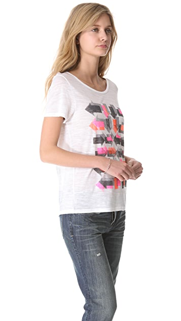 Marc by Marc Jacobs Double Arrows Tee
