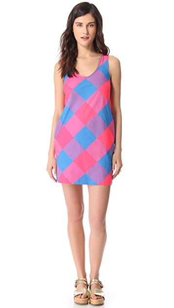 Marc by Marc Jacobs Stacy Check Dress