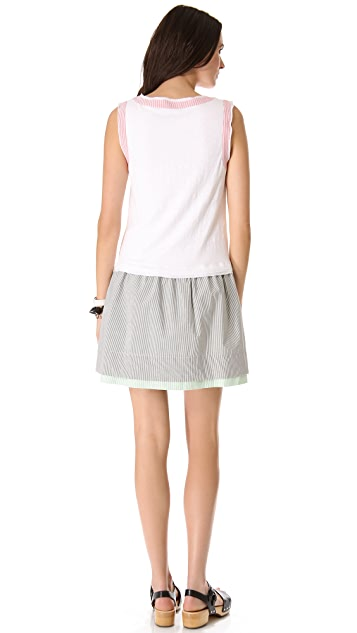 Marc by Marc Jacobs Jasper Mixed Dress