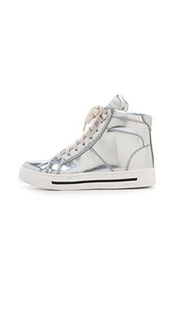 Marc by Marc Jacobs Mirror High Top Sneakers