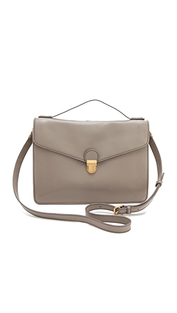 Marc by Marc Jacobs Top Chicret Solid Top Handle Bag
