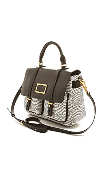 Marc by Marc Jacobs Werdie Weavy Top Handle Messenger