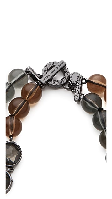 Marc by Marc Jacobs Paste & Prints Double Necklace