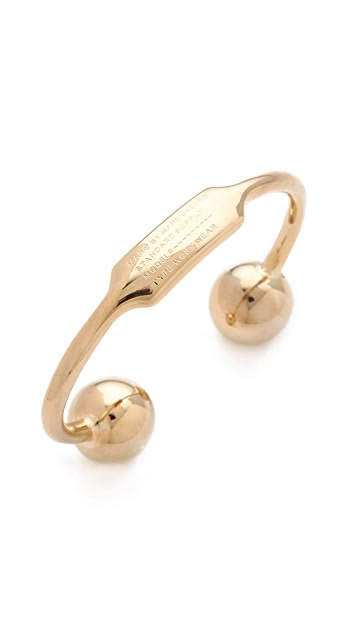 Marc by Marc Jacobs Ball & Chains Small Cuff