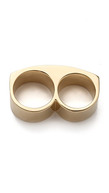 Marc by Marc Jacobs Trompe l'Oeil Toggles & Turnlocks Standard Supply Double Ring