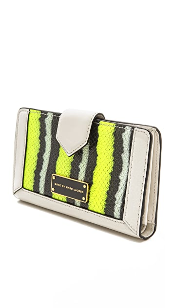 Marc by Marc Jacobs Double Trouble Snakey Medium Wallet
