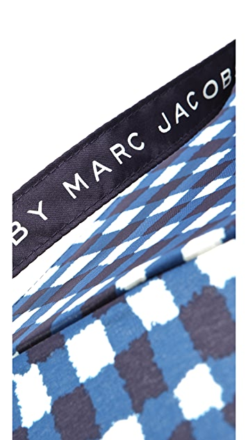 Marc by Marc Jacobs Molly Check Umbrella