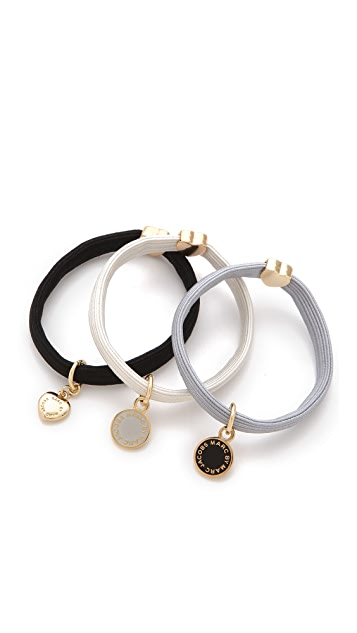 Marc by Marc Jacobs Classic Marc Cluster Ponys Hair Tie Set