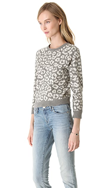 Marc by Marc Jacobs Lita Cheetah Sweater