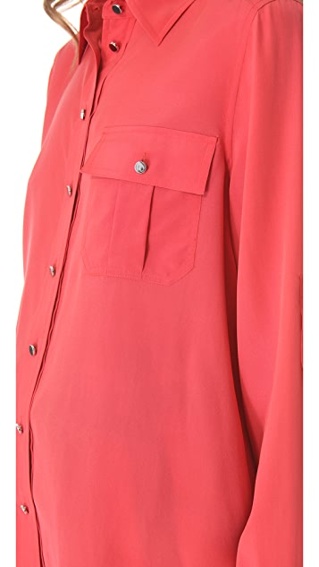 Marc by Marc Jacobs Erin Silk Blouse
