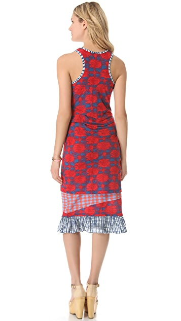 Marc by Marc Jacobs Check Mix Dress