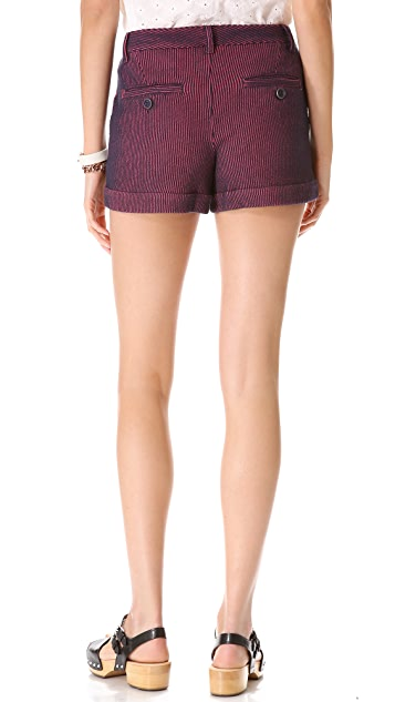 Marc by Marc Jacobs Seersucker Knit Shorts