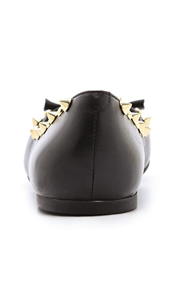 Marc by Marc Jacobs Studded Punk Mouse Ballet Flats